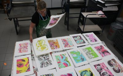 Making Monoprints